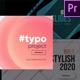 Unique Typography- Premiere Pro - VideoHive Item for Sale