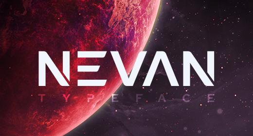 Nevan - The Logo Font
