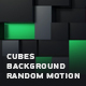 Abstract Cubes Background Random Motion - VideoHive Item for Sale