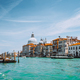 Venice, Italy. Beautiful view of turquoise-green colored Grand Canal and Basilica Santa Maria della - PhotoDune Item for Sale