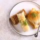Sweets Baklava with Nuts - PhotoDune Item for Sale