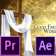 Good Friday and Easter Worship Promo Pack - Premiere Pro - VideoHive Item for Sale