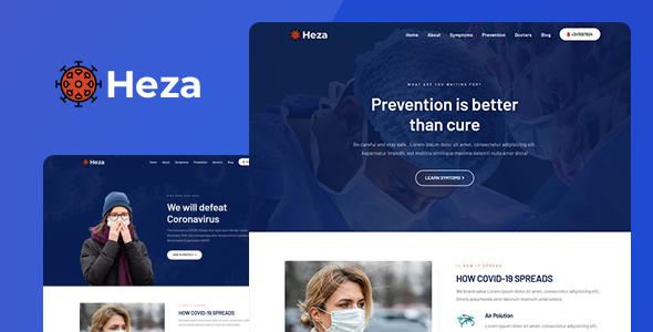 Heza - Coronavirus Medical Prevention Template