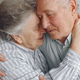 Beautiful old couple spent time together at home - PhotoDune Item for Sale