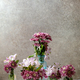 Flowers in glass jars - PhotoDune Item for Sale
