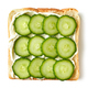 toasted bread with fresh cucumber - PhotoDune Item for Sale