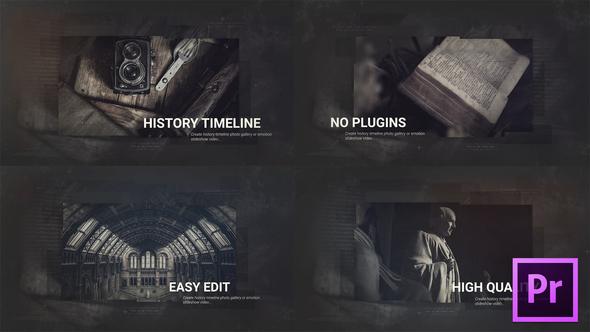 Old History Timeline Promo