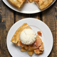 Piece of apple pie, top view - PhotoDune Item for Sale