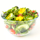 Vegetable salad in a glass bowl with greens - PhotoDune Item for Sale