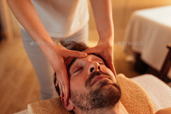 Where stress ends and relaxation beginning - Stock Photo - Images