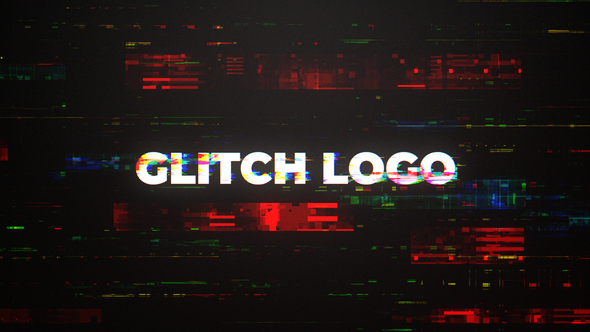 Digital Glitch Intro Mogrt