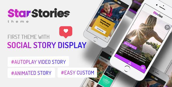 Special StarStories - Creative Magazine & Blog theme