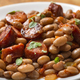 Beans with smoked pork sausages - PhotoDune Item for Sale