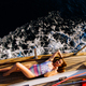 luxury woman yachting in sea top view - PhotoDune Item for Sale