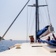yacht in sea with beautiful view - PhotoDune Item for Sale