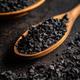 Black salt crystals - PhotoDune Item for Sale