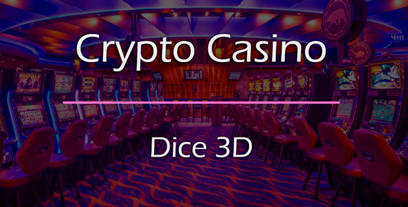 Dice 3D Game Add-on for Crypto Casino
