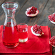 Glass jug of grenadine syrup - PhotoDune Item for Sale