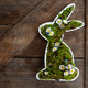 Easter bunny with fresh daisies - PhotoDune Item for Sale