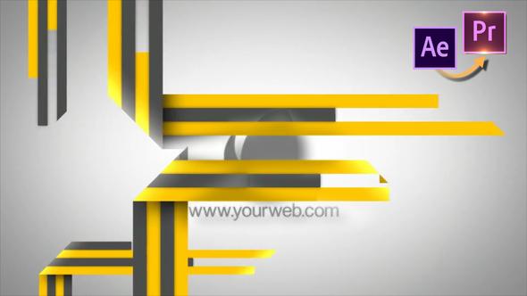 Stripes Logo Revelear – Premiere PRO