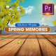 Spring Memories - Premiere PRO - VideoHive Item for Sale