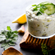 Tzatziki Traditional Greek sauce with ingredients - PhotoDune Item for Sale
