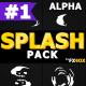 Cartoon Liquid Splashes | Motion Graphics Pack - VideoHive Item for Sale
