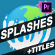 Splash And Titles | Premiere Pro MOGRT