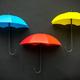 Three colors umbrella icon - PhotoDune Item for Sale