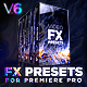 Presets Pack for Premiere Pro | Transitions, Effects, VHS, Titles, LUTS, Sounds - VideoHive Item for Sale