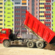 Multistorey building apartment house and dump truck unload soil. - PhotoDune Item for Sale