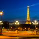 Eiffel Tower and bridge Alexandre - PhotoDune Item for Sale