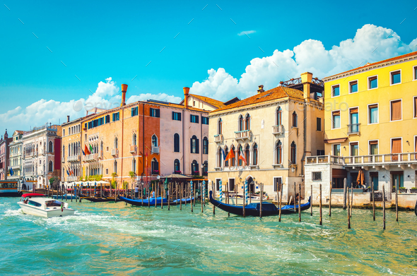 Sunny day in Venice - Stock Photo - Images