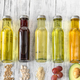 Assortment of vegetable oils - PhotoDune Item for Sale