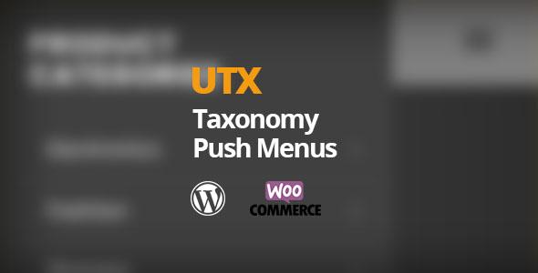 Download UTX Taxonomy Push Menus for WordPress Free Nulled