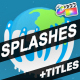 Splashes And Titles | FCPX - VideoHive Item for Sale