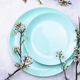 Spring table setting with blooming branch - PhotoDune Item for Sale