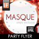 Masque Party Flyer - GraphicRiver Item for Sale