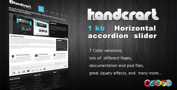 Handcraft 7 in 1 – Portfolio and Business template