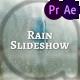 Cinematic Rain Slideshow - VideoHive Item for Sale
