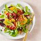 Fruit salad with blood oranges, nuts and pomegranate seeds - PhotoDune Item for Sale