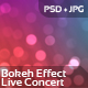 Bokeh Effect - Live Concert - GraphicRiver Item for Sale