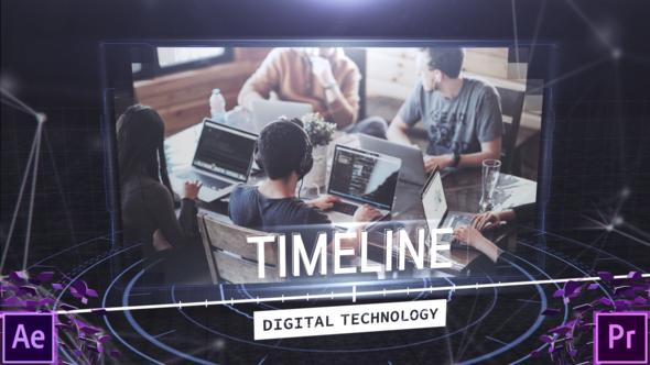 Digital Techonology Timeline