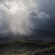 A Torrential Rain Curtain falls off a gray stormy cloud - PhotoDune Item for Sale