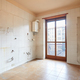 Old, empty kitchen interiror with dirty tiles and boiler - PhotoDune Item for Sale