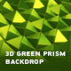 3D Green Prism Backdrop - VideoHive Item for Sale
