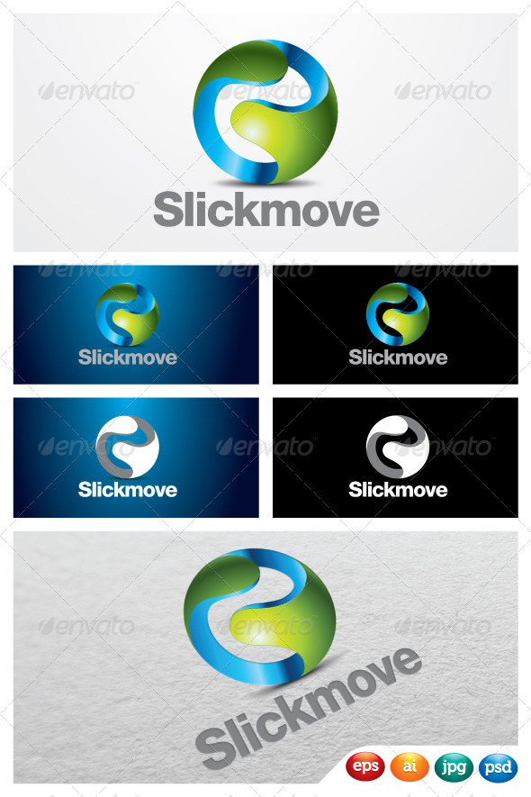 Slickmove - 3d Abstract