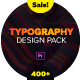 Typography Design Pack -  for Premiere Pro | Essential Graphics