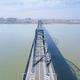 aerial view of jiujiang yangtze river bridge - PhotoDune Item for Sale