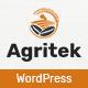 Agritek - Agriculture, Dairyfarm and Gardening WordPress Theme